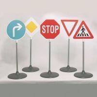 Verkehrsschilder Set groß