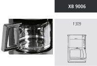 KRUPS KRU XB9006 Ers.Krug F309 n sw (XB 9006)