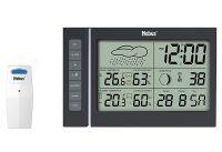 MEBUS Funkwetterstation 11x18x2,2cm (40345)