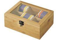 KESPER Tee-Box FSC m.6 Fächern (58902)