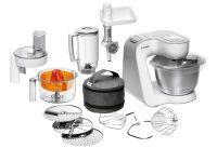BOSCH Küchenmaschine MUM54240 weiß/silber (MUM54240)