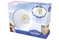 """P:OS Frühstücks-Set (Teller, Schale und Becher) """"Frozen"""" im Geschenkkarton (24508088)"""