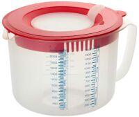 Dr. Oetker Mess-und Rührbecher 2,2 L mit Spritzschutz (01803)