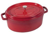 STAUB Cocotte oval 33cm rot (40509-872-0)