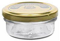 EMSY Schraubdeckelglas Sturz mit 66mm TO-Deckel selbstgemacht 70 ml 16er Pack ()