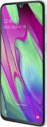 """Samsung Galaxy A40 64GB White 5.9"""" Android (SM-A405FZWDDBT)"""