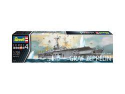 Revell German Aircraft Carrier GRAF ZEPPELIN 1:720  (05164)