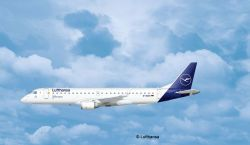 Revell Embraer 190 Lufthansa New Livery 1:144  (03883)