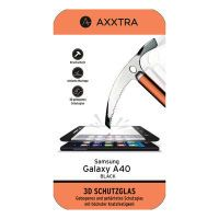 Axxtra Displayschutz Glas 3D A40 sw (PROT-FGLAS-A40-B)