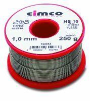 Cimco Elektroniklot 1,5mm 500g DIN EN 29453 Einwegspule