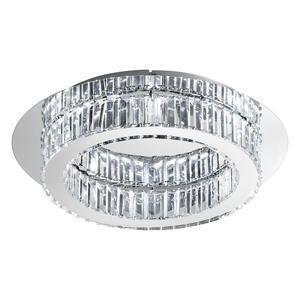 EGLO LED-Deckenleuchte  Ø500 CHROM/KRISTALL'CORLIANO' (39015)