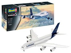Revell Airbus A380-800 Lufthansa New Livery 1:144  (03872)