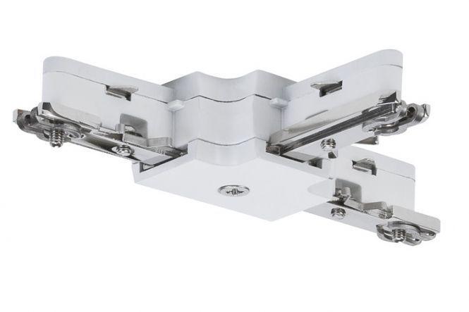 PAULMANN 976.86 URail Schienen-System- ZUB T-Verbinder max. 1000W 230V weiß Weiß