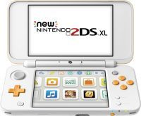 New Nintendo 2DS XL weiß orange