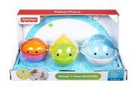 Mattel Fisher-Price Badespielzeug Meeresfreunde Wannenfreunde