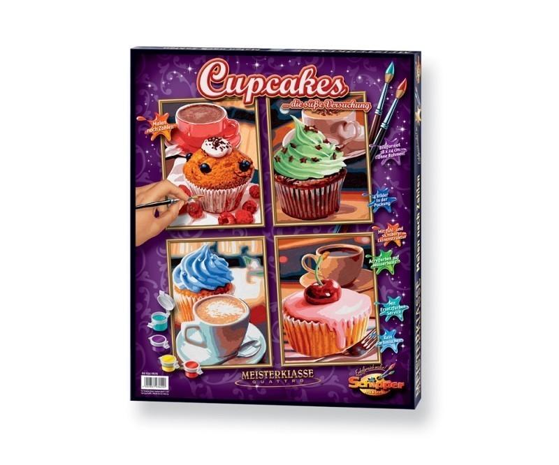 Malen Nach Zahlen Mnz Cupcakes Quattro