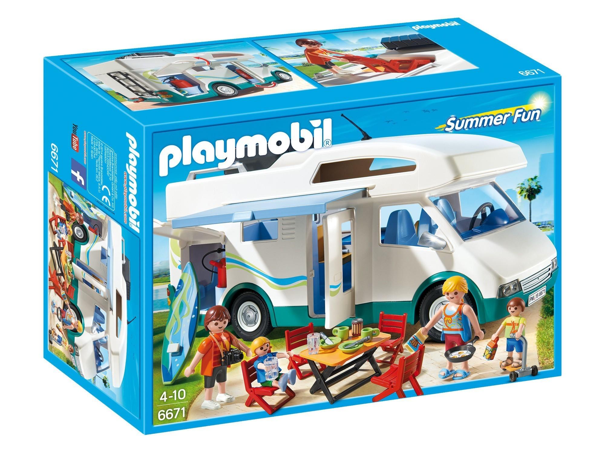b33a3df0c630e PLAYMOBIL Summer Camper-6671